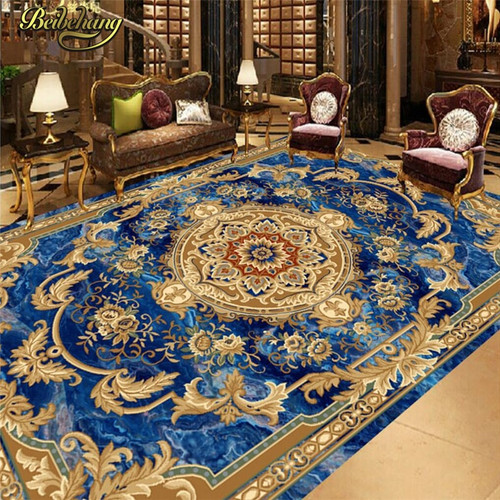 beibehang Custom European marble carpet 3D Photo Wallpaper for Living Room Bedroom Bathroom Floor Painting Wall Mural Wall paper