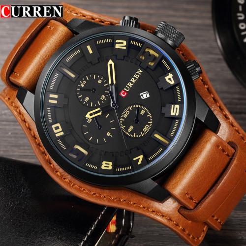 Curren 8225 Men Watches Top Brand Luxury Quartz Watch Men Military Sport Dropship Clock Hodinky Relojes Hombre Relogio Masculino