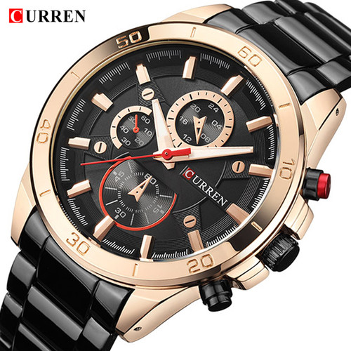 CURREN 2018 New Top Brand Luxury Watch Men Fashion Quartz Wristwatches Male Clock Army Military Sport Watches Relogio Masculino