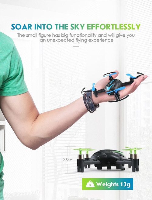 JJRC H48 Mini Drone RC Quadcopter Infrared Control 2.4G 4CH 6 Axis 3D Flips Kid Outdoor Educational Toys For Children