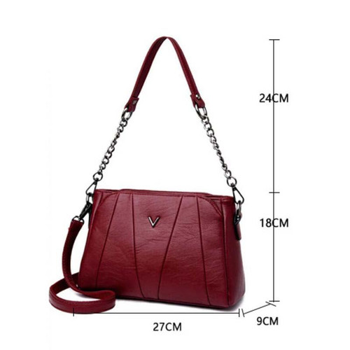 Leather Ladies HandBags Women Genuine Leather bags Totes Messenger Bags Hign Quality Designer Luxury Brand Bag