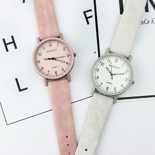 Gogoey Top Brand Women's Watches Fashion Leather Wrist Watch Women Watches Ladies Watch Clock bayan kol saati reloj mujer
