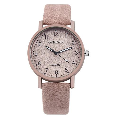 Gogoey Women Watches Leather Personality Romantic Wrist Watch Ladies Watch Clock zegarek damski Watch For Women reloj mujer saat