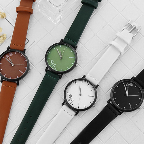 Fashion Lovers' Wrist Watch Men Women Watches Creative Good night and Good morning Women's Watches Men's Watch Clock kol saati