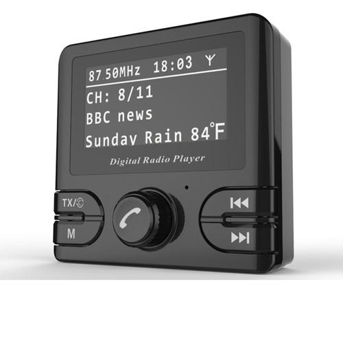 Car Dab GPS Receiver DAB/DAB+ In-car Radio Bluetooth Wireless FM Transmitter DAB+ Autoradio Adapter Tuner Audio Output