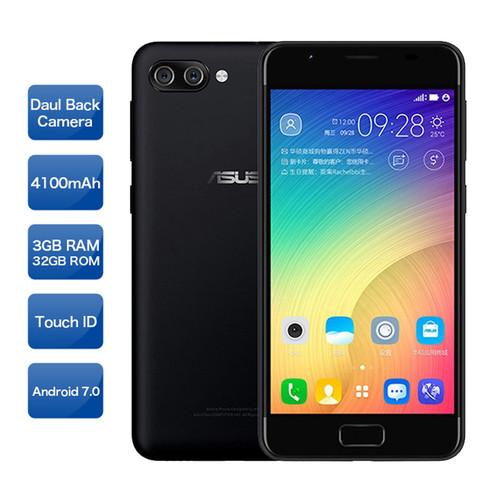 ASUS ZenFone 4 max  ZB500TL Smartphone Android 7.0 5.0 inch HD MT6737 3GB RAM 32GB ROM  4100mAh Type C Fingerprint Lte phone