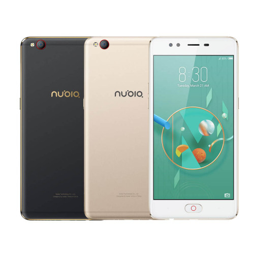 nubia M2 lite 4G Mobile Phone 3GB+64GB 5.5Inch HD Display MT6750 Octa Core  13MP+16MP 3000mAh Fingerprint Recognition Smartphone