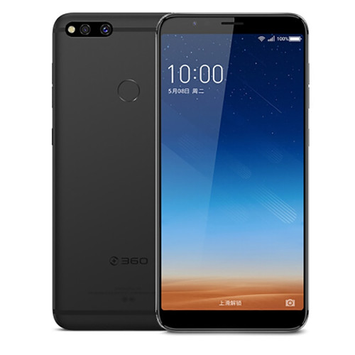 Qiku 360 N7 Mobile Phone 5.99 inch 6GB RAM 64GB / 128GB Snapdragon 660 Android 8.1 Dual Camera 5030mAh Fingerprint Smartphone