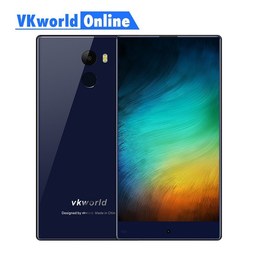 "Vkworld Mix Plus Mobile Phone 5.5"" Full Screen 3GB RAM 32GB ROM MTK6737 Quad Core 13MP Fingerprint 2850mAh 4G Lte Smartphone"