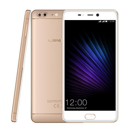 "LEAGOO T5 4G LTE Smartphone Android 7.0 MT6750T Octa Core 5.5""FHD 4GB RAM 64GB ROM 13MP Dual Back Cams Fingerprint Mobile Phone"