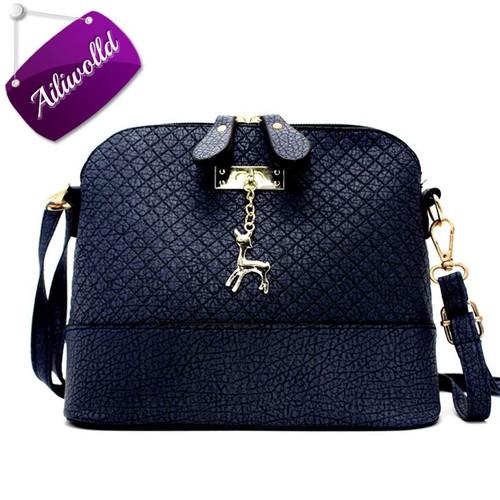 2017 New Hot Shell Women Messenger Bags High Quality Cross Body Bag PU Leather Mini Female Shoulder Bag Handbags Bolsas Feminina