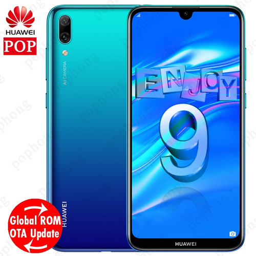 Global Rom Huawei Enjoy 9 Mobile Phone 6.26 inch Android 8.1 Octa Core Smartphone 4000mAh Bluetooth Dual Card Dual Standby Phone