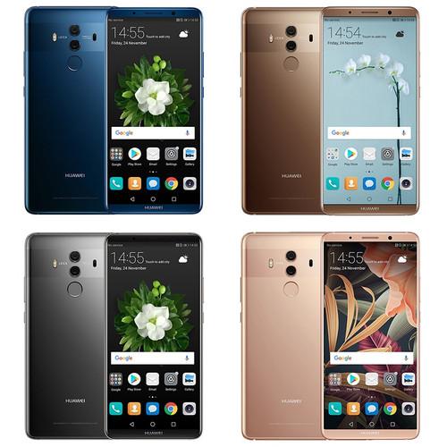 Global Firmware Huawei Mate 10 Pro 6.0 inch Android 8.0 Kirin 970 Octa Core Smartphone 6GB RAM 64GB/128GB ROM 20.0MP+12.0MP NFC