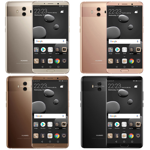 "Global Firmware Huawei Mate 10 Cell phones Android 8.0 3D Curved Glass 5.9""2560*1440P 4000mAh Fingerprint Octa Core 2.36GHZ"