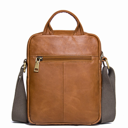 CONTACT'S Men's Genuine Cowhide Leather Shoulder Bag Quality Men Messenger Bags Causal Crossbody Handbag For Men Briefcase Bags