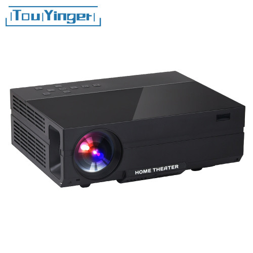 Touyinger X10 T26 T26K LED film Projector full HD 1920*1080px 3500 4000 Lumens Beamer Video Home Theater Multimedia HDMI/VGA/ AV