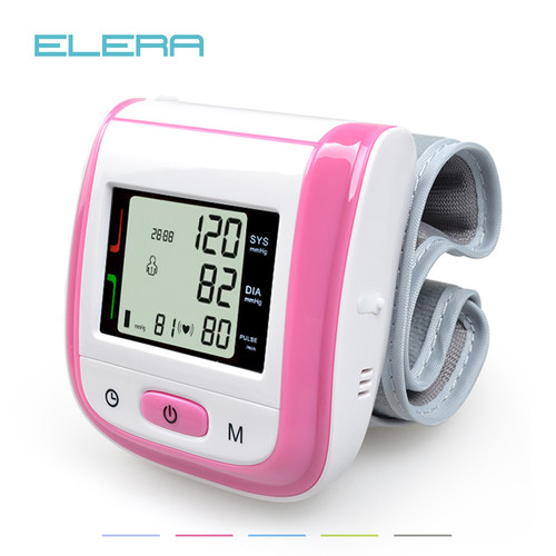 Health Care Automatic Wrist Blood Pressure Monitor Digital LCD Wrist Cuff Blood Pressure Meter Esfingomanometro Tonometer
