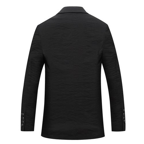 2018 New Men's Clothing Casual Blazers Slim Fit Jackets Homme Costume Coat Spring Autumn Formal Black Blazer Cotton Coat Men