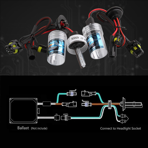 2pcs Hid Xenon Lamp H7 H11 H1 H3 9005 9006 880 881 H8 H9 HB3 HB4 Bulb Car Light Auto Headlight Fog Light 35W D030