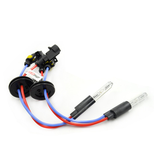 2pcs Bixenon Projector lens hid xenon bulb H1 H4 H7 motorcycle car hid projector lens headlight Headlamp Modify
