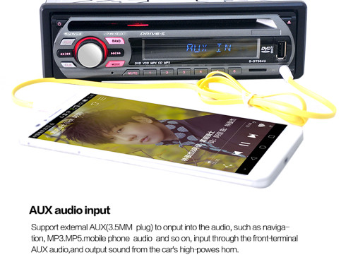 1 din Car Electronics Car Audio Car MP3 Music Player Stereo FM LCD Screen Support USB SD DVD Mp3 Player AUX with Remote Control
