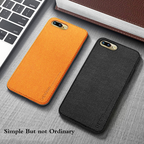 Luxury Cloth Skin Soft Case For iPhone 7 8 6 6s Plus Silicone Shockproof Phone Cover For iphone X Protector Shell Coque