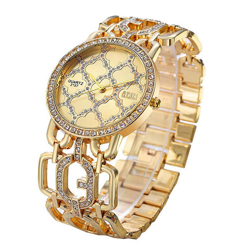Luxury O.T.SEA Brand Rose Gold Bracelet Watches Women Ladies Crystal Dress Quartz Wristwatches Relogio Feminino 2157