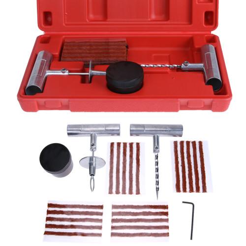 Motorcycle Car Tubeless Tyre Puncture Repair Kit Tire Tool Plug VehicleEmergency Fix Tools Car Accessories ME3L