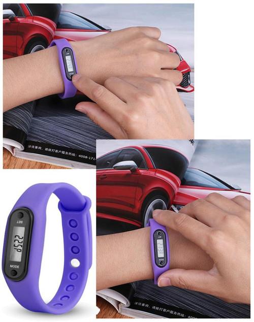 High Quality Bracelet Watches Female Man Run Step Watch Bracelet Pedometer Calorie Counter Digital LCD Walking Distance Unisex