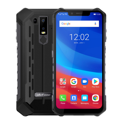 """Ulefone Armor 6 IP68 Waterproof Mobile Phone Android 8.1 6.2"""" FHD+ Octa Core helio P60 6GB 128GB Global Version Smartphone"""