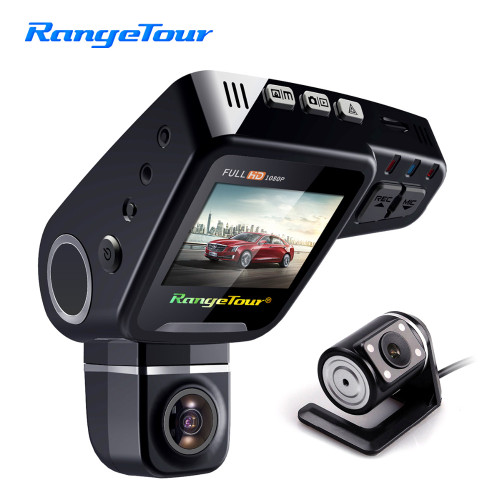 Range Tour C10s Mini Car DVR Camera HD 1080P 360 Degree Rotated Dash Cam Dual lens  Video Recroder Camcorder G-Sensor