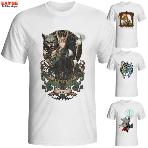Fashion New Design T Shirt Marvellous Great Odin King Face Thor Cool T-shirt Comics Printed Tshirt Casual Anime Tee Men Imported