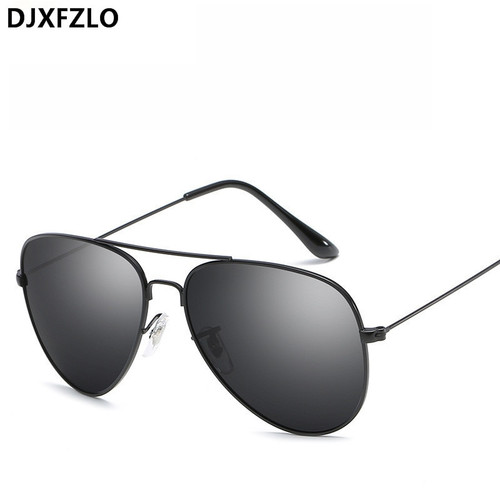 DJXFZLO Vintage Classic Sunglasses Women Men Brand Designer Men's Pilot Driving Mirror Sun Glasses Female Oculos de sol UV400