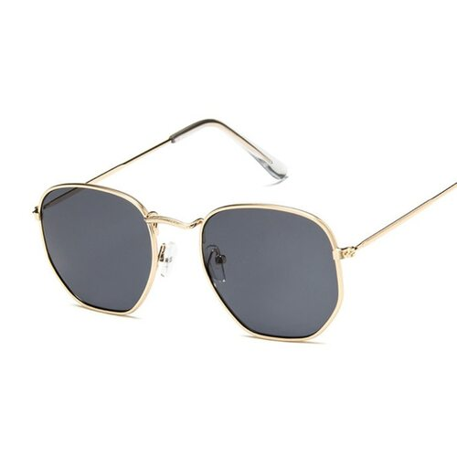 Vintage Square Sunglasses Women Men Shades Retro Classic Black Sun Glasses Female Male Luxury Brand Designer Oculos De Sol
