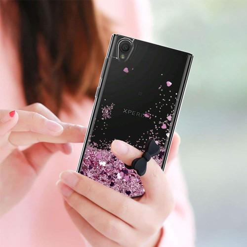 Glitter Case For Sony Xperia XA XA1 XA2 X XZ XZS XZ1 XZ2 L1 L2 E5 E6 Ultra Compact Sparkle Quicksand Liquid TPU Slicone Cover