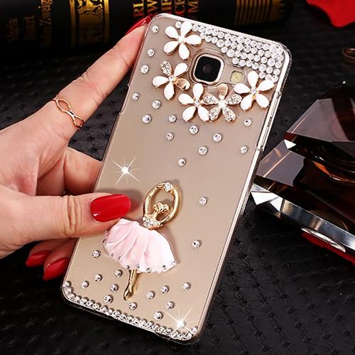 J7 Neo Glitter Bling Rhinestone Case for Samsung Galaxy S8 S9 Plus J3 J5 J7 2016 2017 J4 J6 J8 2018 Diamond Shell Cover