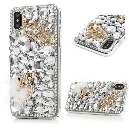 Diamond Silicone Soft Case Cover for Samsung Galaxy S8 S9 Plus S7 Edge A3 A5 A7 A6 A8 Plus 2018 Bling Lovely Crystal Phone Cases