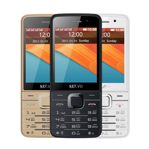 Quad SIM Cards 2.8 inch HD Big Screen 4 SIM cards 4 standby phone with Dual Camera GPRS Bluetooth vibration MP4 Russian keyboard