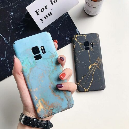 s8 s9 Plus Case For Samsung Galaxy s7 Edge Case Cover Hard Marble Coque Phone Cases For Samsung s8 Plus s9 Case Note 8 Note 9