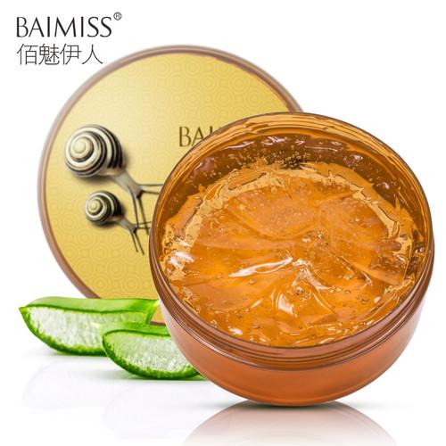 BAIMISS Snail Serum Aloe Vera Gel Face Cream Skin Care Repair Acne Treatment Blackhead Remover Acne Scar Removal Moisturizing