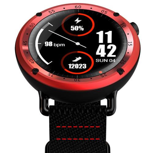 L19 GPS Smart Watch MTK2503 IP67 Waterproof Blood Pressure Heart Rate Monitor Sports Fitness Tracker Stopwatch Wristwatch Clock