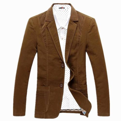 Spring-Autumn 2018 Men's Casual Suit Blazer Slim Fit Men's Suit Jacket Casual Business Plus Size 6XL Men Cotton Coat Outerwear