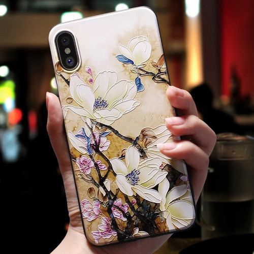 For iphone 6 7 8 6s Case For iphone X XS XR 7 8 6 Plus Case For iphone xs max 5 5s se Case Cover Rose Flowers Black Phone Case