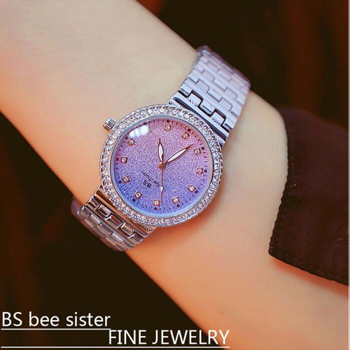 New Hot Women Watches Luxury Lady Watch Woman Rhinestone Wristwatches Fashion Crystal Watches Gift Watch Women Relogios clocks