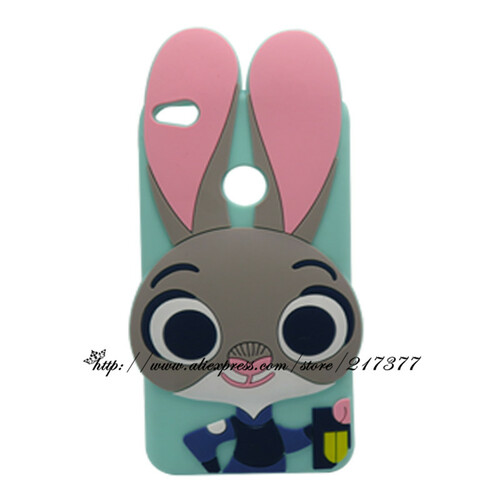 Hot 3D Silicon Stitch minnie Cat Unicorn Cartoon Soft Phone Back Case for Huawei Ascend P8 Lite 2017 / Honor 8 Lite/p9 lite 2017