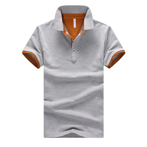 2018 Summer Short Sleeve Polo Shirt Men M-4XL ASIAN SIZE 11 Solid color Choose