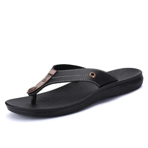 JUNJARM 2018 Outdoor Casual Walking Beach Flip Flops Men Shoes Summer Fashion Beach Slippers Sapatos Hembre Sapatenis Masculino