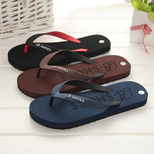 Men Slippers Summer Shoes Sandals Male Slipper Indoor Or Outdoor Flip Flops Casual Men Non-Slip Flip Flops Beach Shoes 40-44