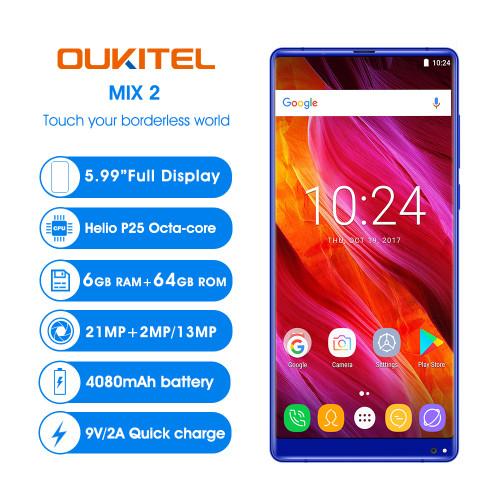 OUKITEL MIX 2 4G LTE Smartphone 5.99''