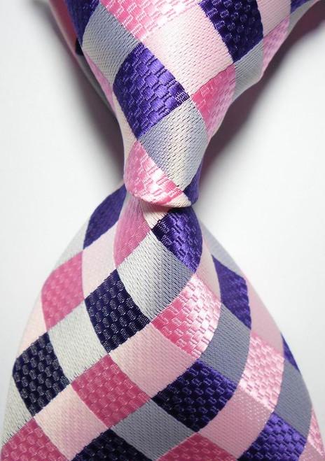 10cm New Brand Classic Checks Color Paisley Ties For Men Jacquard Woven 100% Silk Tie Red Green Wedding Party Men's Tie Necktie